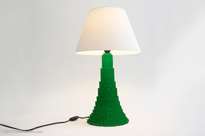 Lego Lamp Stanton-green-lamp